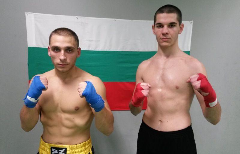 Петър Стоянов и Стефан Чучулски