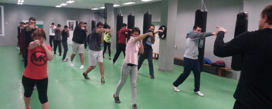 Тренировки по кикбокс за начинещи в Пловдив, курс за начинаещи