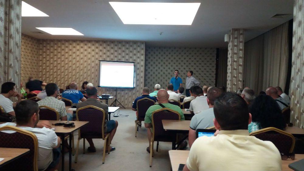 СК ТЕРЕС Пловдив на семинар по кикбокс