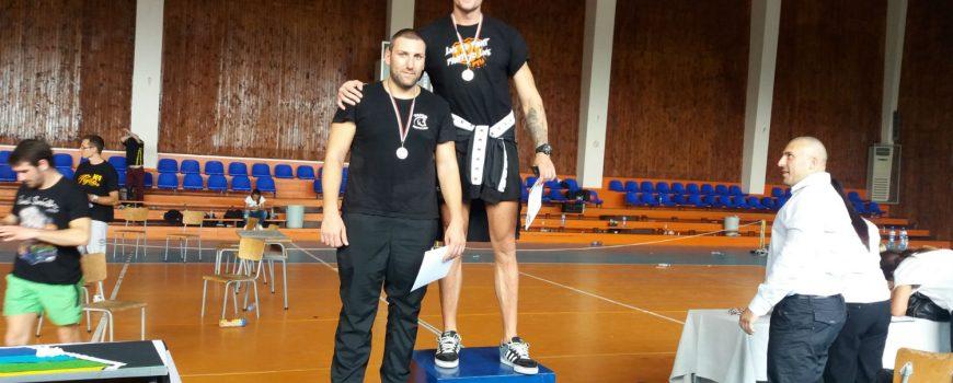 Сребърен медал за Артин Маргосян от Държавното по Кикбокс в Каварна 2016
