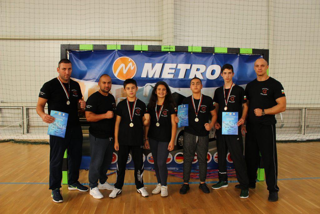 """СК """"Терес"""" - 5 медала от 5 участника!"""