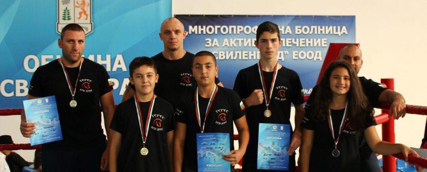 Пет медала за бойците от СК Терес от Държавното по Кикбокс в Свиленград