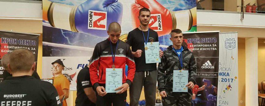 Златен медал за Стефан Чучулски от турнира във Варна!