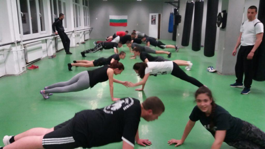Физически тренировки в СК ТЕРЕС - функционална тренировка