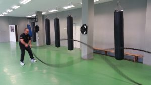 Тренировки с бойно въже