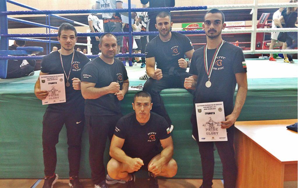 Три медала за кикбоксьорите на Терес от Фул контата в Нова Загора 2017