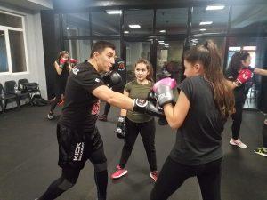 Тренировъчен семинар бокс жени