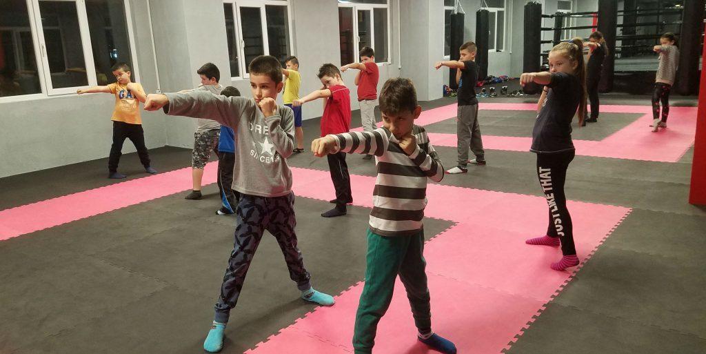 Кикбокс за деца в Пловдив