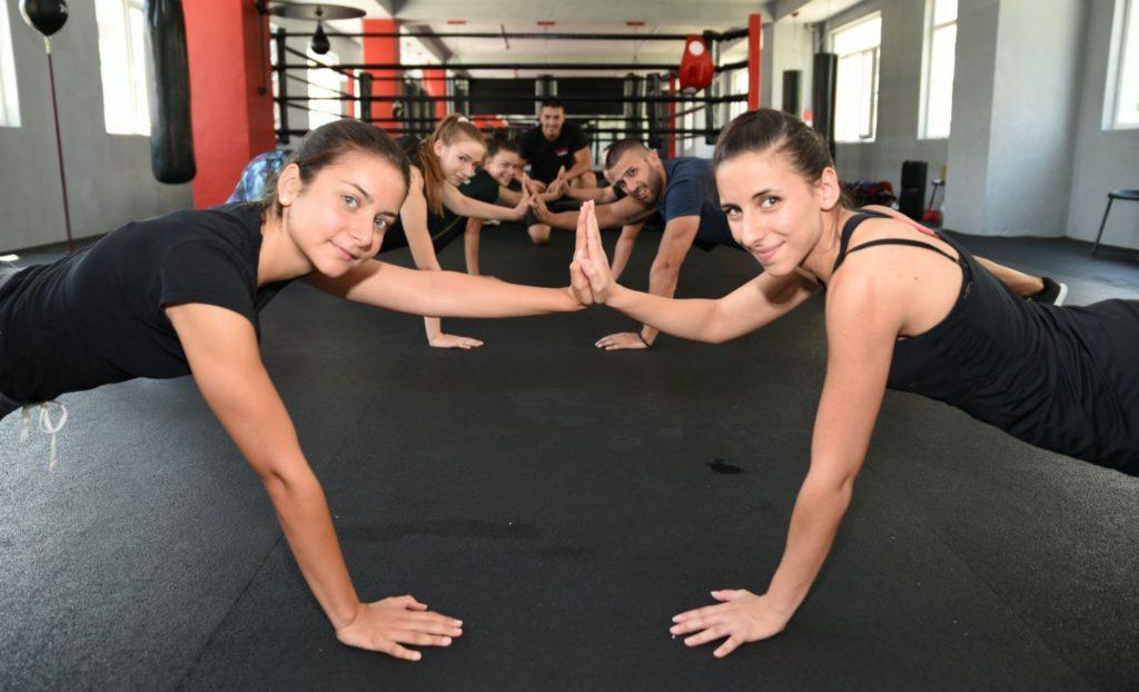 Тренировки по Табата в Терес Пловдив