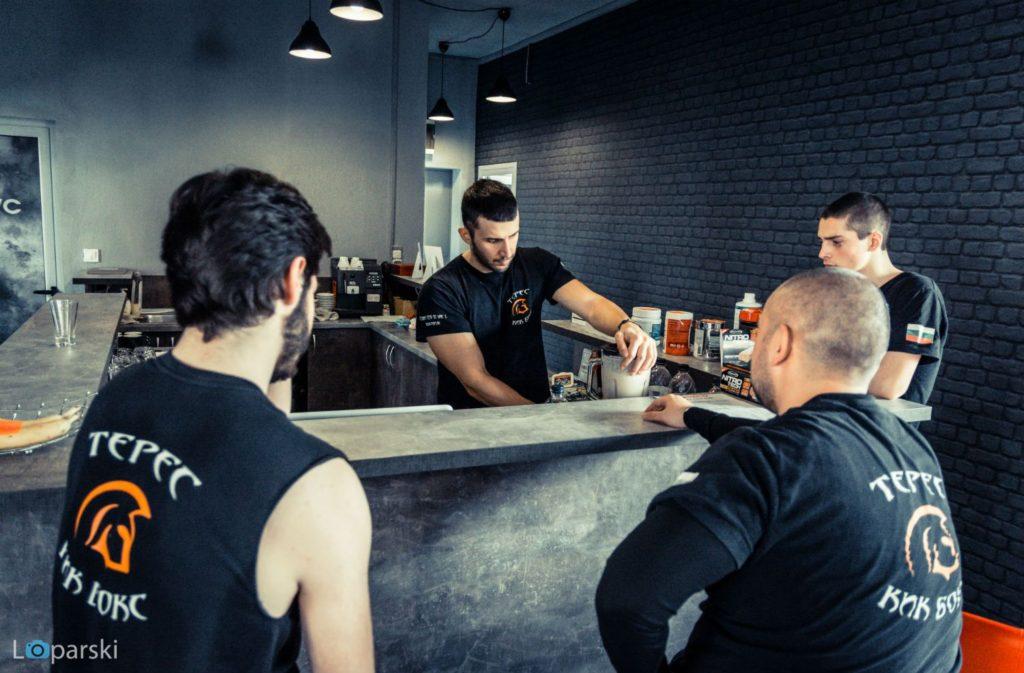 Рецепция на Teres Gym Plovdiv