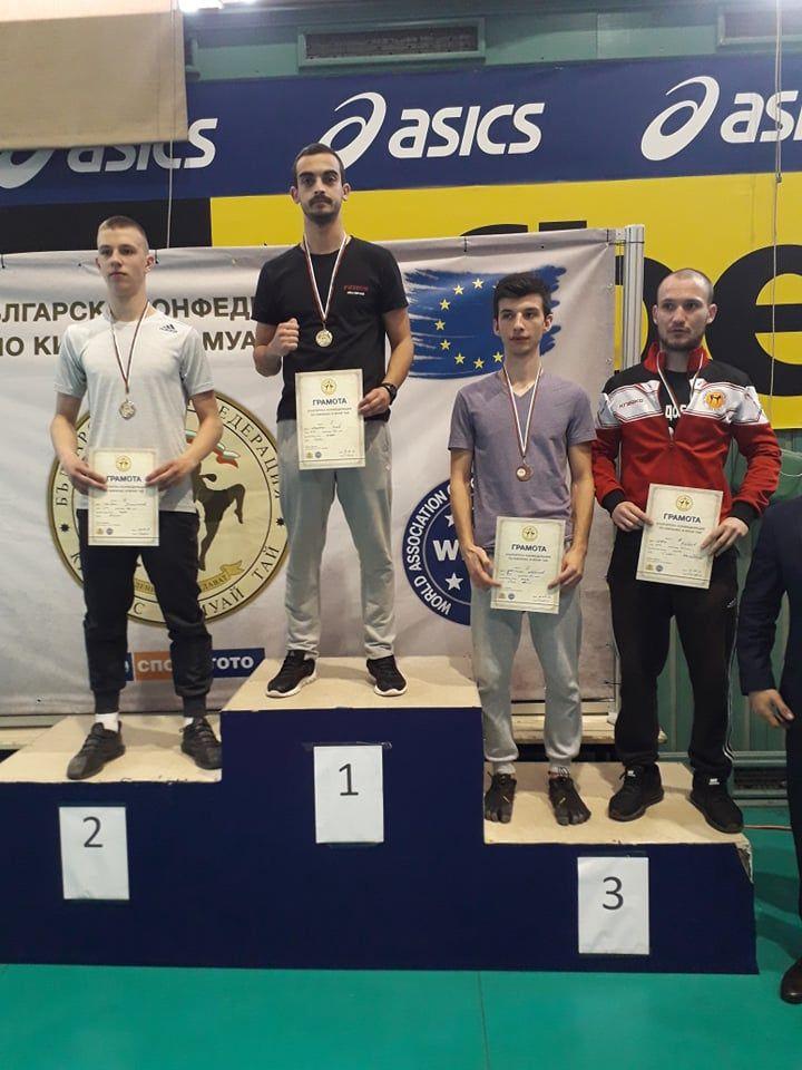Ивайло Панев - шампион на киклайт контакт