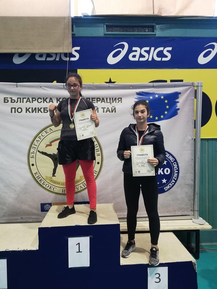 Виктория Янкова - бронзова медалистка на лайт контакт