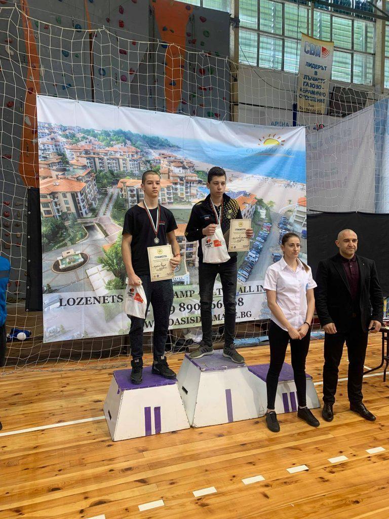 Емилио Ралев - сребърен медал