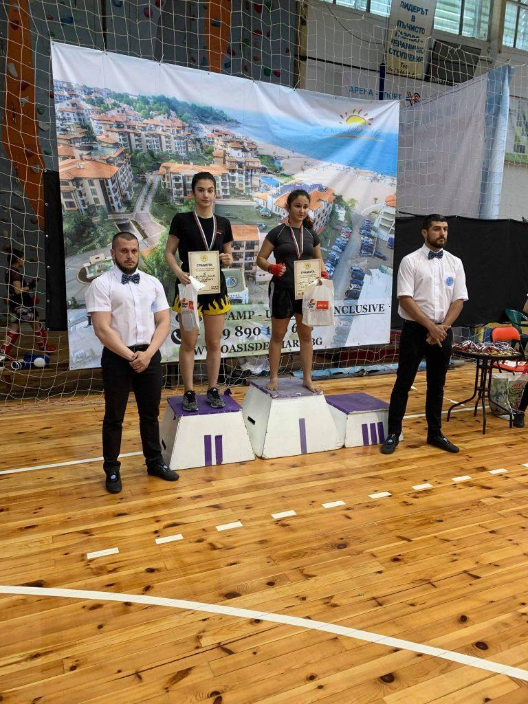 Виктория Янкова - сребърен медал